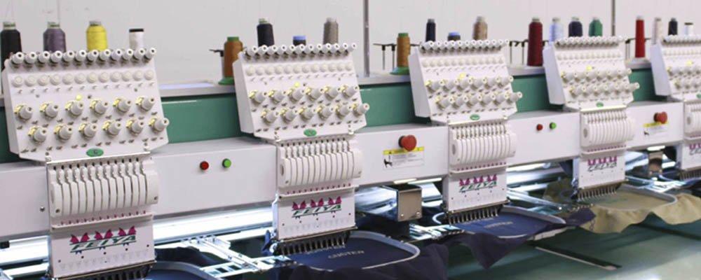 машинная вышивка на одежде на заказ - собственное производство